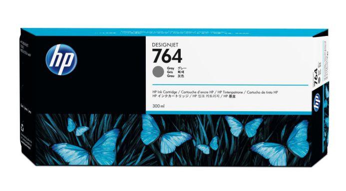 HP Cartucho de tinta DesignJet 764 gris de 300 ml