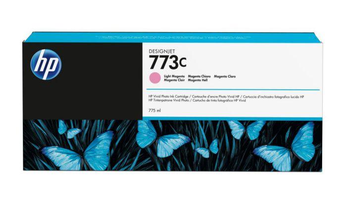 HP Cartucho de tinta DesignJet 773C magenta claro de 775 ml