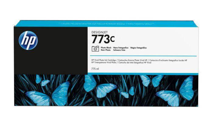 HP Cartucho de tinta DesignJet 773C negro fotografico de 775 ml