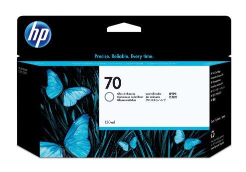 HP Cartucho de tinta de mejora de brillo DesignJet 70 de 130 ml