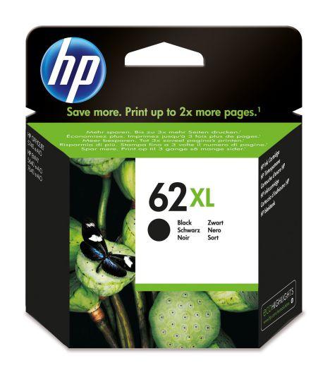 Ver HP Cartucho de tinta original 62XL de alta capacidad negro