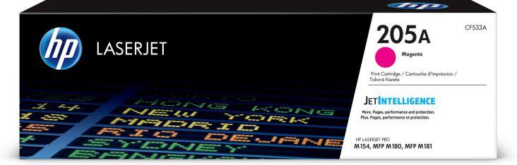 Ver HP Cartucho de toner Original LaserJet 205A magenta
