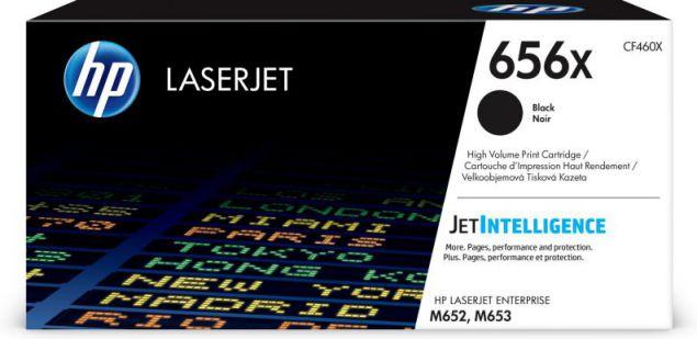 HP Cartucho de toner Original LaserJet 656X negro de alta capacidad
