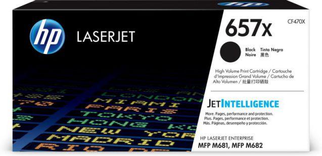 HP Cartucho de toner Original LaserJet 657X negro de alta capacidad