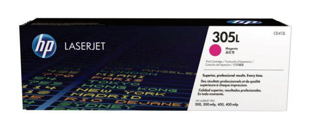 HP Cartucho de toner original LaserJet 305L economico magenta