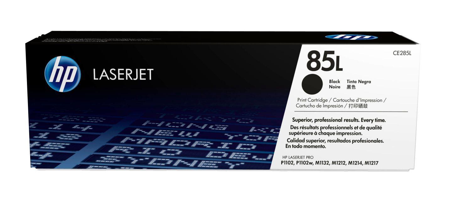 HP Cartucho de toner original LaserJet 85L economico negro