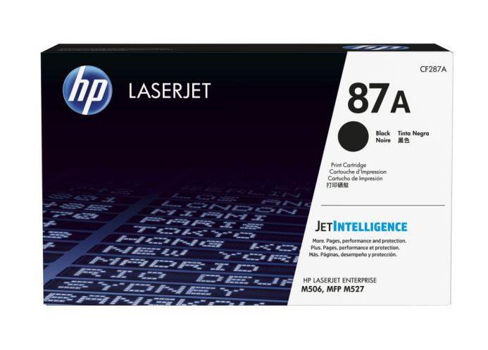 HP Cartucho de toner original LaserJet 87A negro