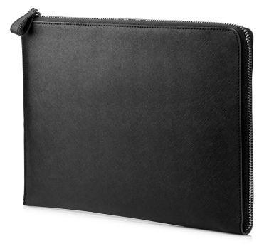 HP Elite 13 3 Black Leather Sleeve Funda Negro