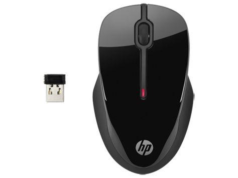 HP X3500 RF inalambrico Ambidextro Negro raton