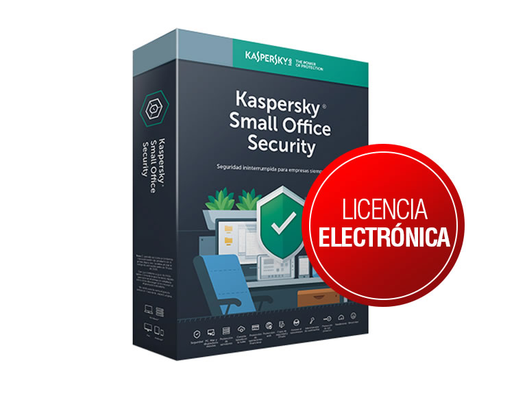 Ver KASPERSKY SMALL OFFICE SECURITY 6 0 5 Lic 1Server REN