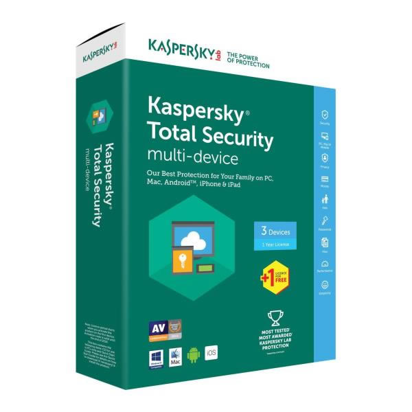 Ver KASPERSKY TOTAL SECURITY 2018
