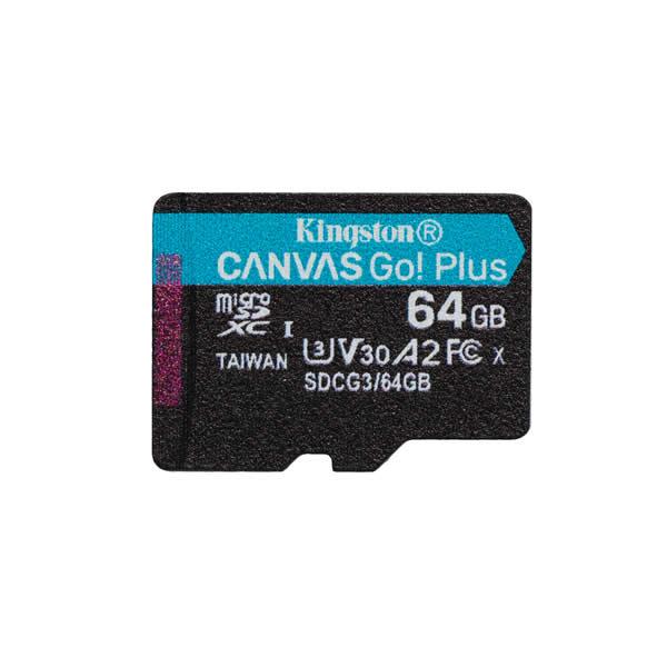 Kingston Microsdxc 64gb Canvas Go Plus 170r A2 U3 V30 Card