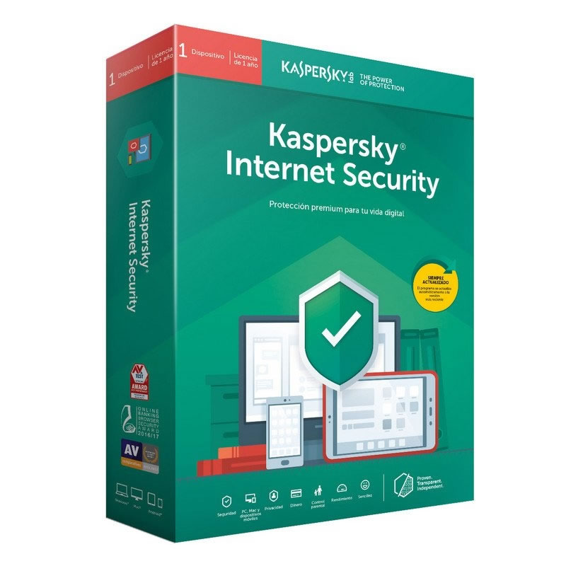 Ver Kaspersky Internet Security MD 2019 3 LICENCIAS RENOVACION