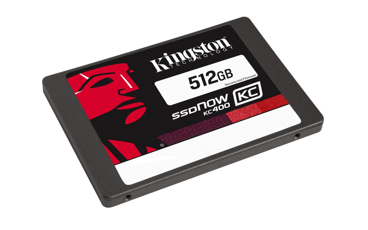 Ver Kingston SSDNow KC400 512GB Upgrade Kit 512GB
