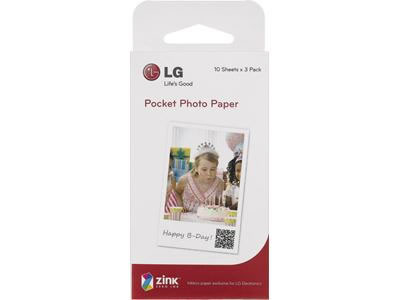 Lg Papel Recarga Ps2203 Para Pocket Photo Pd233