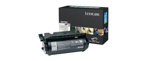 Lexmark 12A7465 cartucho de toner Original Negro