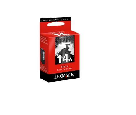 Ver Lexmark 14A Negro cartucho de tinta