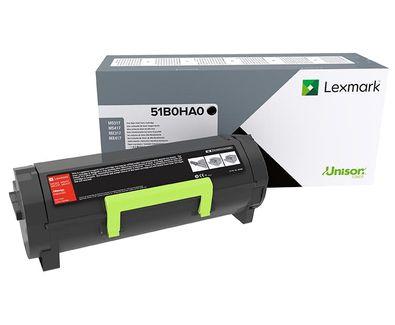 Lexmark 51B0HA0 Laser toner Negro toner y cartucho laser