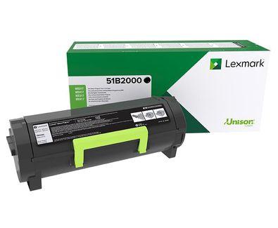 Lexmark 51B2000 Laser toner Negro toner y cartucho laser