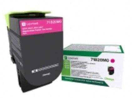 Lexmark 71B20M0 Laser toner 2300paginas Magenta toner y cartucho laser