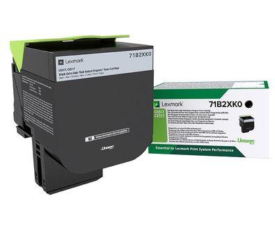 Lexmark 71B2XK0 Laser toner 8000paginas Negro toner y cartucho laser