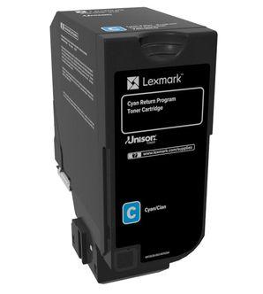 Lexmark 74C20C0 cartucho de toner Original Cian