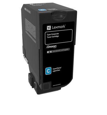 Lexmark 74C20CE Cartucho 3000paginas Cian toner y cartucho laser