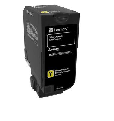 Lexmark 74C20YE Toner de laser 3000paginas Amarillo toner y cartucho laser