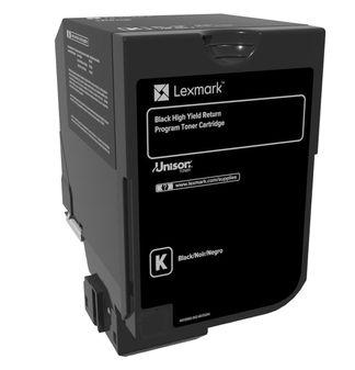 Lexmark 74C2HK0 cartucho de toner Original Negro