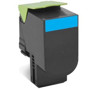 Ver Lexmark 80C2HCE Cartucho 3000paginas Cian toner y cartucho laser