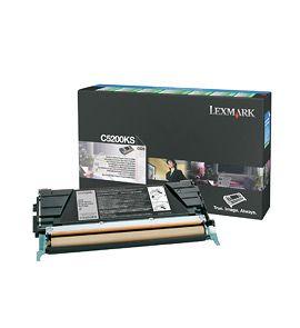Lexmark C5200KS Cartucho 1500paginas Negro toner y cartucho laser