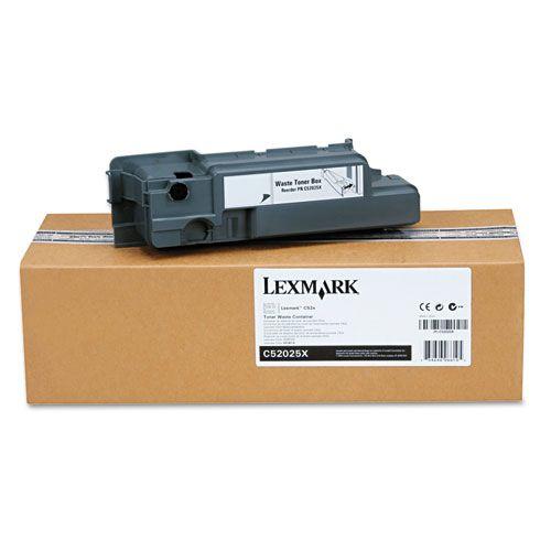 Lexmark C52x C53x Caja de toner residual colector de toner