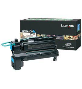Ver Lexmark C792A1CG Cartucho 6000paginas Cian toner y cartucho laser
