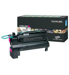 Lexmark C792A1MG Cartucho 6000paginas magenta toner y cartucho laser
