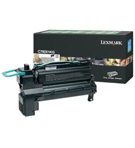 Lexmark C792X1KG Cartucho 20000paginas Negro toner y cartucho laser