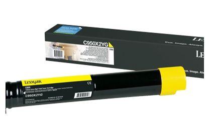 Lexmark C950X2YG 24000paginas Amarillo toner y cartucho laser