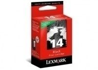 Ver Lexmark No14 Black Return Program Print Cartridge