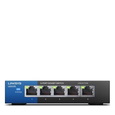 Ver Linksys LGS105 No administrado Gigabit Ethernet 10