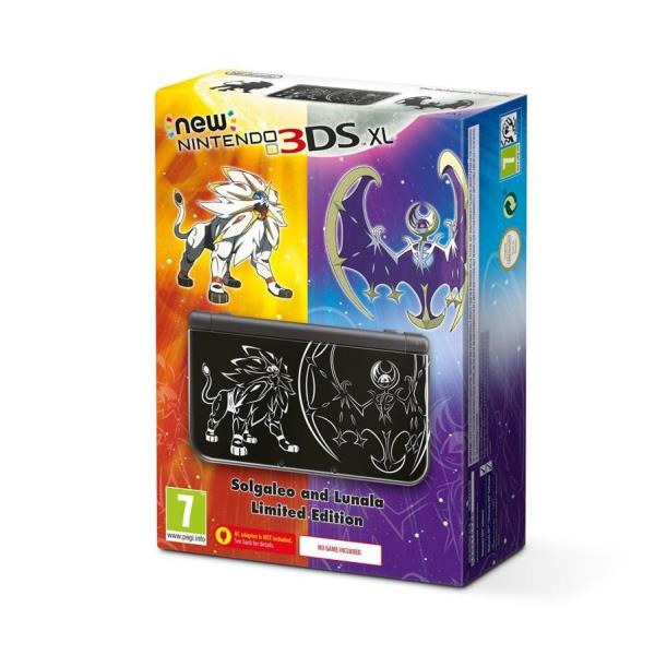 Ver NEW 3DS XL NEGRO POKEMON LUNA