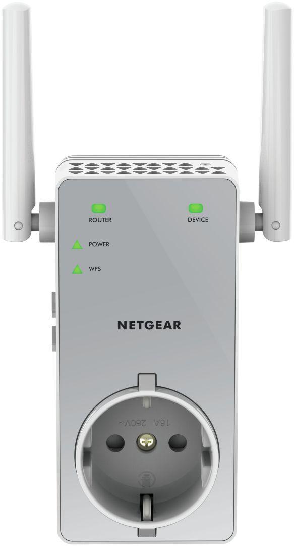 Ver Netgear AC750 Network transmitter Gris
