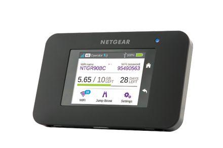 Ver Netgear AirCard 790S Wifi Negro equipo de red 3G UMTS