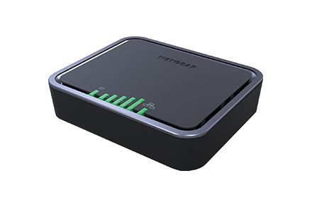 Netgear LB2120 Ethernet Negro router