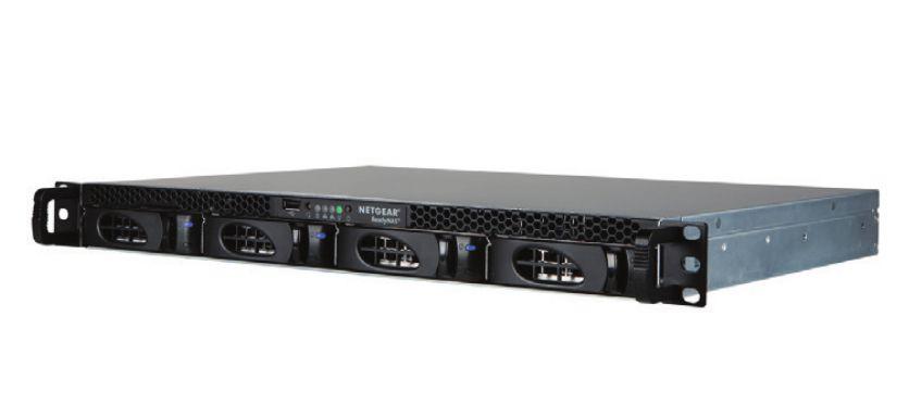 Netgear ReadyNAS 2304 NAS Bastidor 1U Ethernet Negro