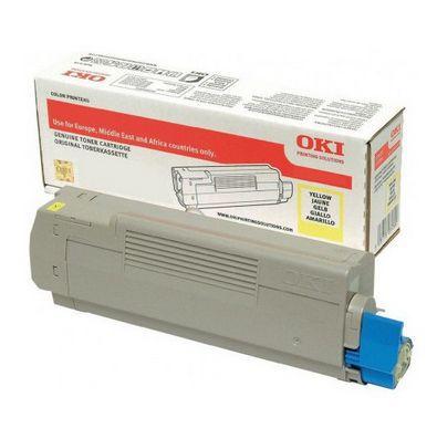 OKI 46471101 Toner 7000paginas Amarillo toner y cartucho laser