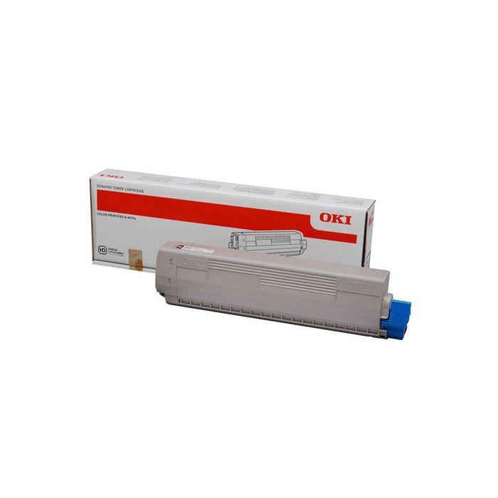 OKI 46508710 Cartucho 3000paginas Magenta toner y cartucho laser