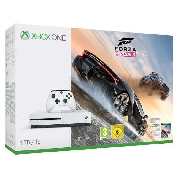 PACK XBOX ONE S 500GB FORZA 3