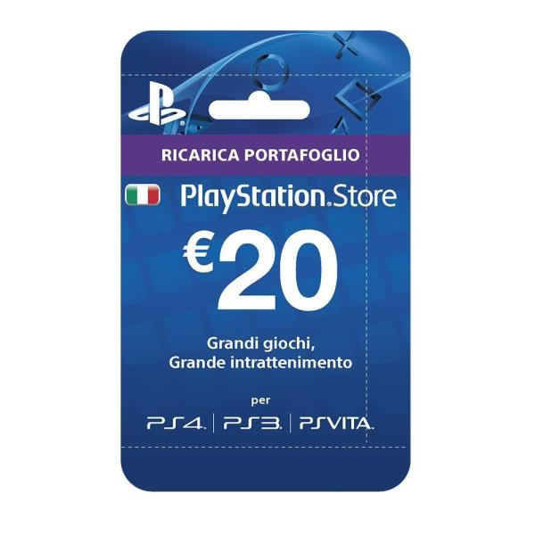 PLAYSTATION LIVE CARDS HANG 20 EURO