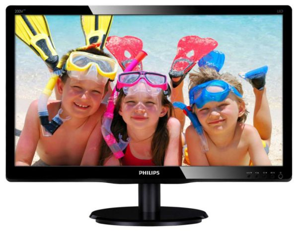Ver Philips 200V4LAB2 TFT 19 5 Negro Gloss