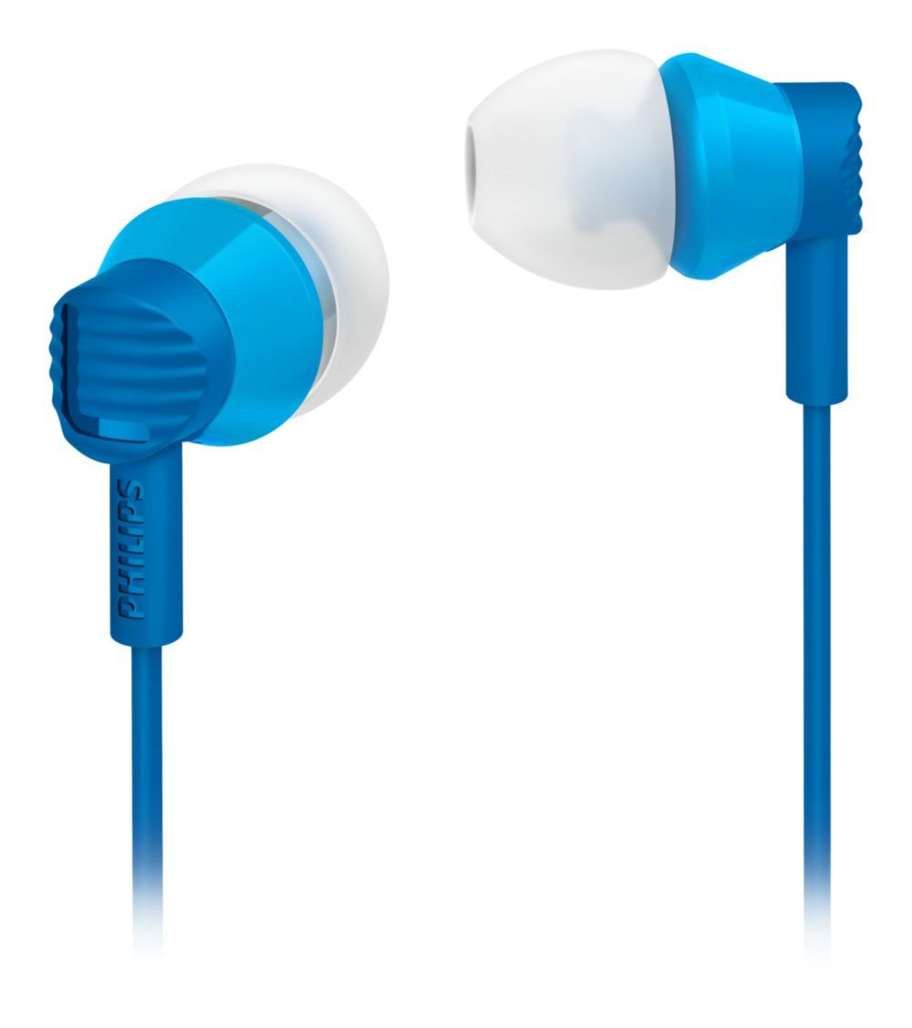 Ver Philips Auriculares intrauditivos SHE3800BL