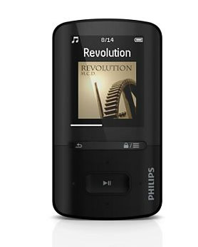 Philips Sa4vbe08kf Reproductor Mp4 8gb